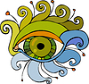 Vector clipart: Eye