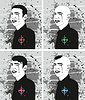 Vector clipart: Man Haircut Face Set
