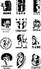 Vector clipart: Logo Set
