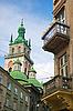 성당 타워 | Stock Foto
