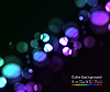 Vector clipart: Bokeh lights effects