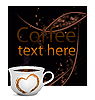 Vector clipart: Coffee cup with heart