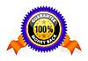 Vector clipart: Money back guarantee