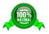 Label für Naturprodukte
