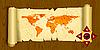 Векторный клипарт: старая карта