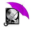 Векторный клипарт: Защита жесткого диска