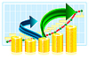 Vector clipart: Financial success concept