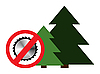 Векторный клипарт: Клинок и дерево