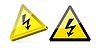 Векторный клипарт: Иллюстрации высокого напряжения знак
