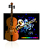 Vector clipart: Concerto for Violin and Orchestra