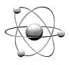 Векторный клипарт: символ атома
