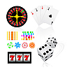 Vector clipart: gambling set