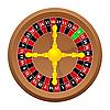 Vector clipart: roulette casino