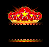 movie, theater or casino template