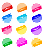 Vector clipart: Labels badges and stickers