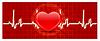 Vector clipart: Heart cardiogram