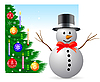 Vector clipart: Christmas and New Year