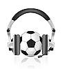 Vector clipart: Soccer concept