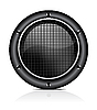 Vector clipart: sound speaker