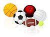 Vector clipart: Ball set