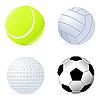 Vector clipart: set of balls