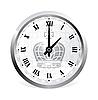 Vector clipart: Vintage Clock