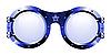 Векторный клипарт: Солнцезащитные очки в стиле диско