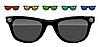 Векторный клипарт: солнцезащитные очки