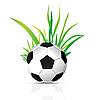 Векторный клипарт: футбольный мяч