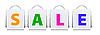 Vektor Cliparts: Verkauf Einkaufstüten