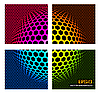 Vector clipart: Technology color background -