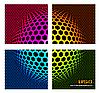 Vektor Cliparts: Technologie Farbe Hintergrund -
