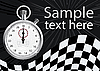 Vector clipart: stopwatch
