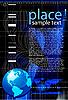 Vektor Cliparts: Business-Hintergrund mit Globe von Erde