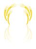 Vector clipart: Yellow wheat