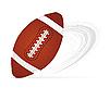 Vector clipart: American football