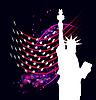 Vector clipart: Statue of Liberty