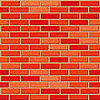 Vector clipart: Red brick wall with noise textures