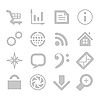 Vector clipart: application icons