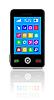 Vector clipart: Touchscreen smartphone