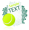 Tennis background | Stock Illustration