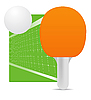 Vector clipart: ping pong