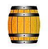 Vector clipart: Wooden barrel