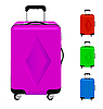 Vector clipart: Suitcases