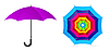 Vector clipart: umbrella