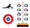 Vector clipart: Curling