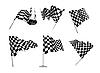 ID 3154431 | Checkered Flags set | Stock Vector Graphics | CLIPARTO