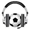 Vector clipart: Football Soccer Podcast