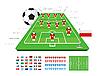Vector clipart: Soccer Tactical Kit