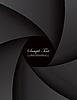 Vector clipart: dark style portfolio